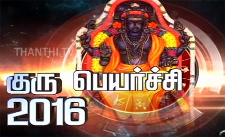 Guru Peyarchi Palangal by Astrologer Sivalpuri Singaram