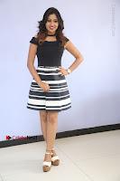 Actress Mi Rathod Pos Black Short Dress at Howrah Bridge Movie Press Meet  0086.JPG