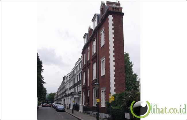 Gedung Tipis di London, UK
