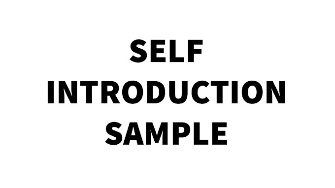 Self Introduction For Fashion Designer