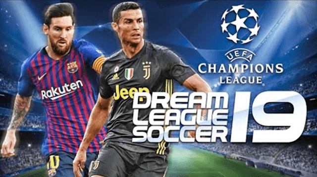 تحميل لعبة dream league soccer 2019 للأندرويد مهكرة بحجم 300MB