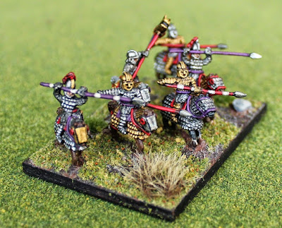 Joint 2nd place: Late Roman Cataphracts, by streetgang - wins £5 Pendraken credit!