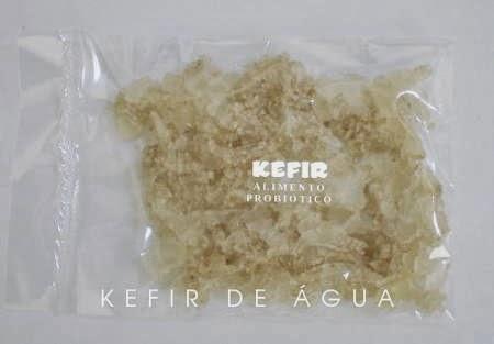 Graos de kefir de água -tibico desidratados para doação.