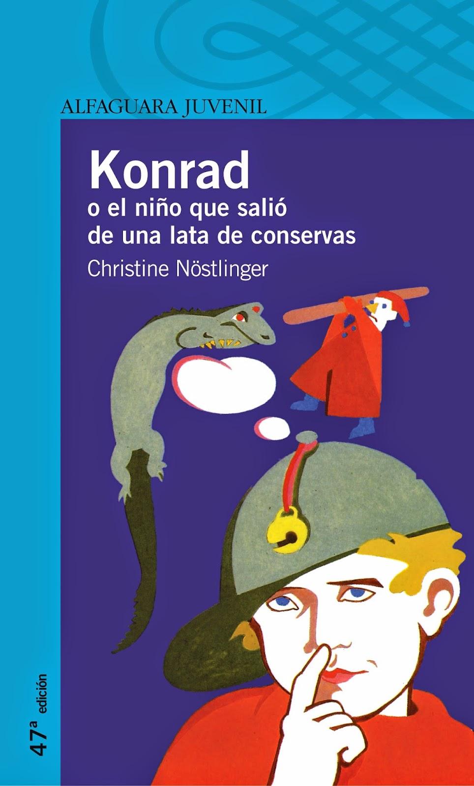 Konrad o el niño que salió de una lata de conservas