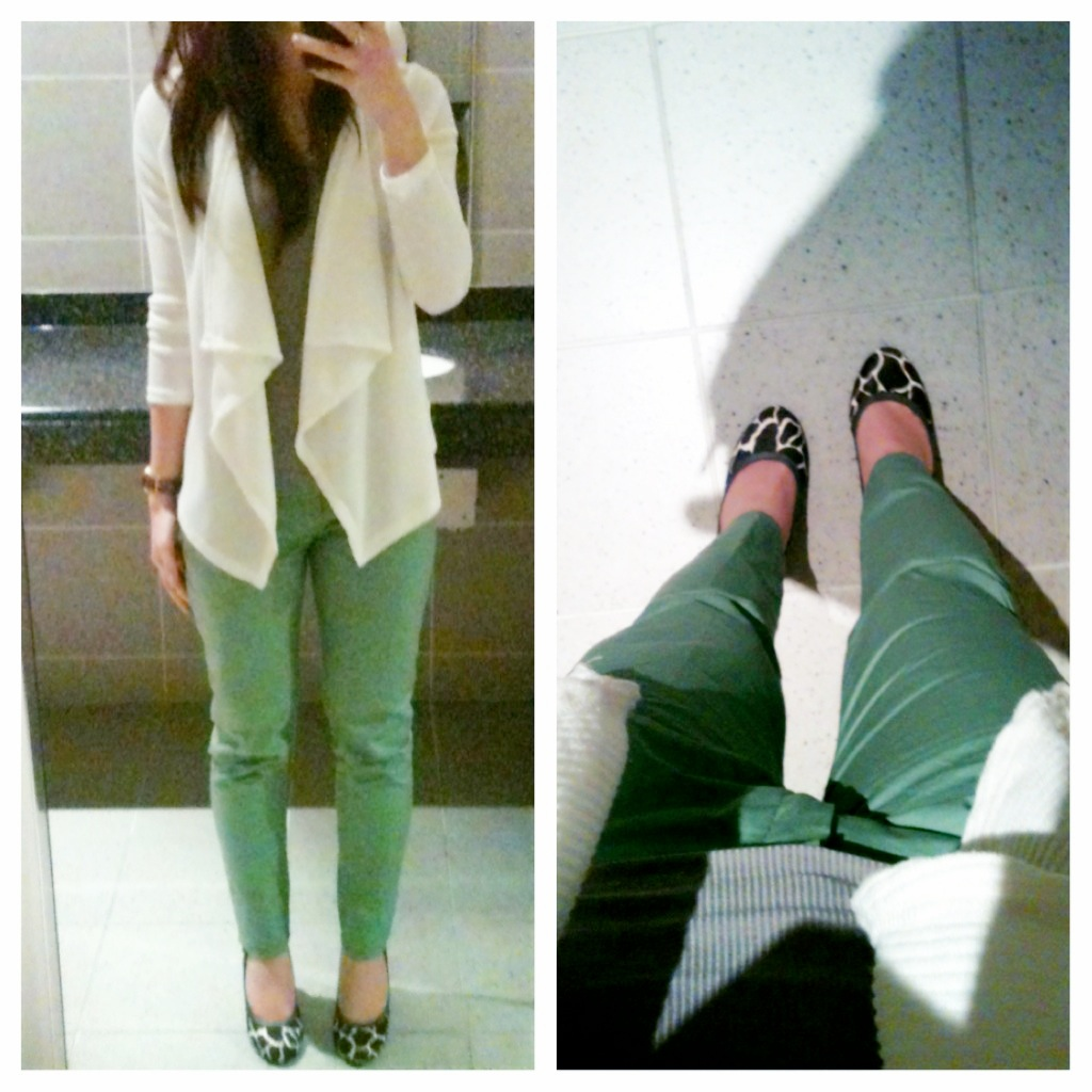{Outfit of the Day} The Fancy Green Onions