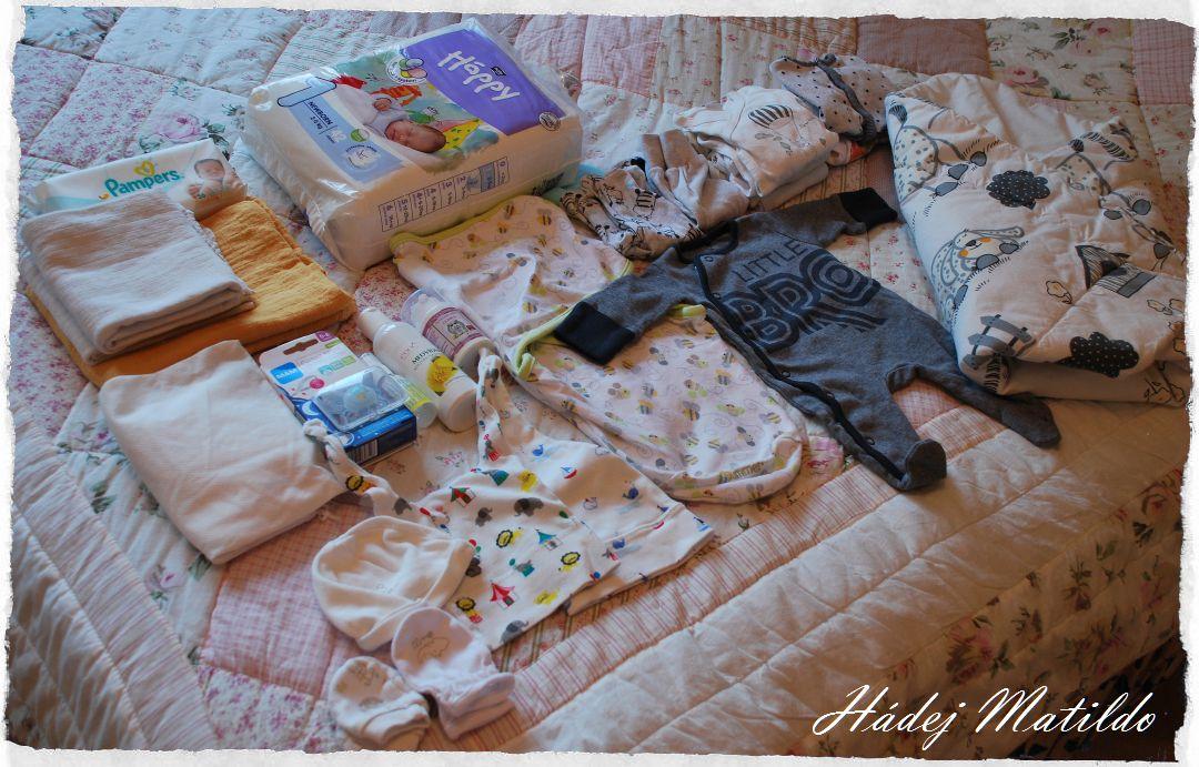 taška do porodnice, co si nabalit do porodnice, balíme do porodnice