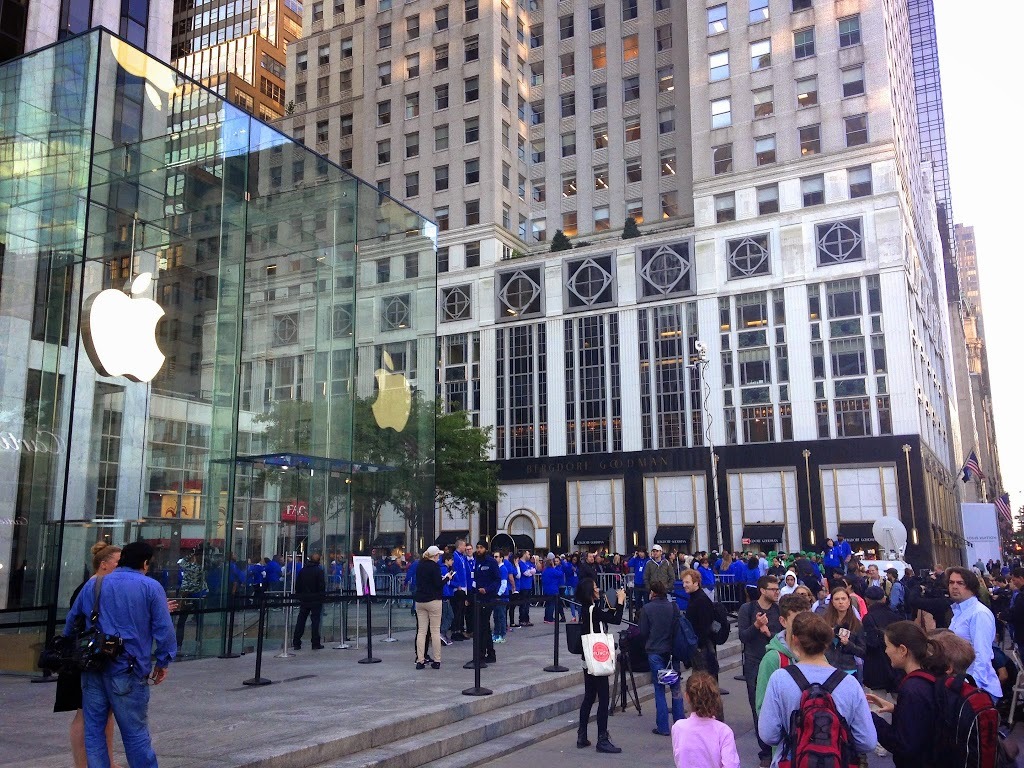 iPhone 6/6 Plus美國開賣現場+實機體驗!