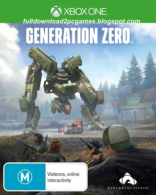 This Is A Superb New Release Action With Adventure Video Game Developed By Avalanche Publ Generation Zero Free Download PC Game- CODEX