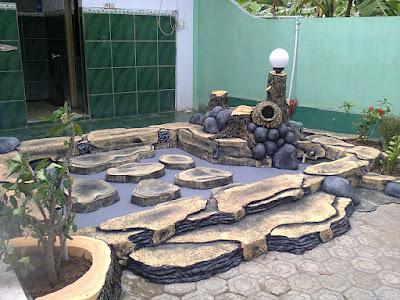 tukang taman indramayu-cirebon cat finishing dan cat motif