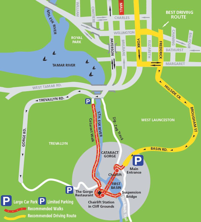 塔斯馬尼亞-景點-推薦-激流峽谷-Cataract-Gorge-Reserve-地圖-旅遊-自由行-澳洲-Tasmania-Tourist-Attraction-Australia
