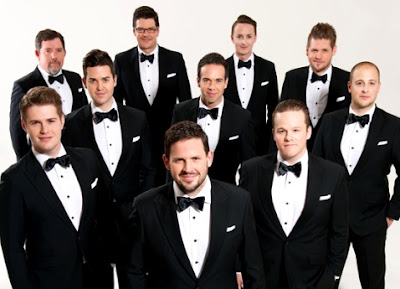 Foto de The Ten Tenors con corbata michi