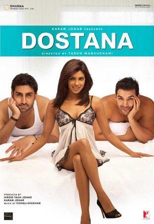Dostana 2008 Full Hindi Movie Download BRRip 720p ESub
