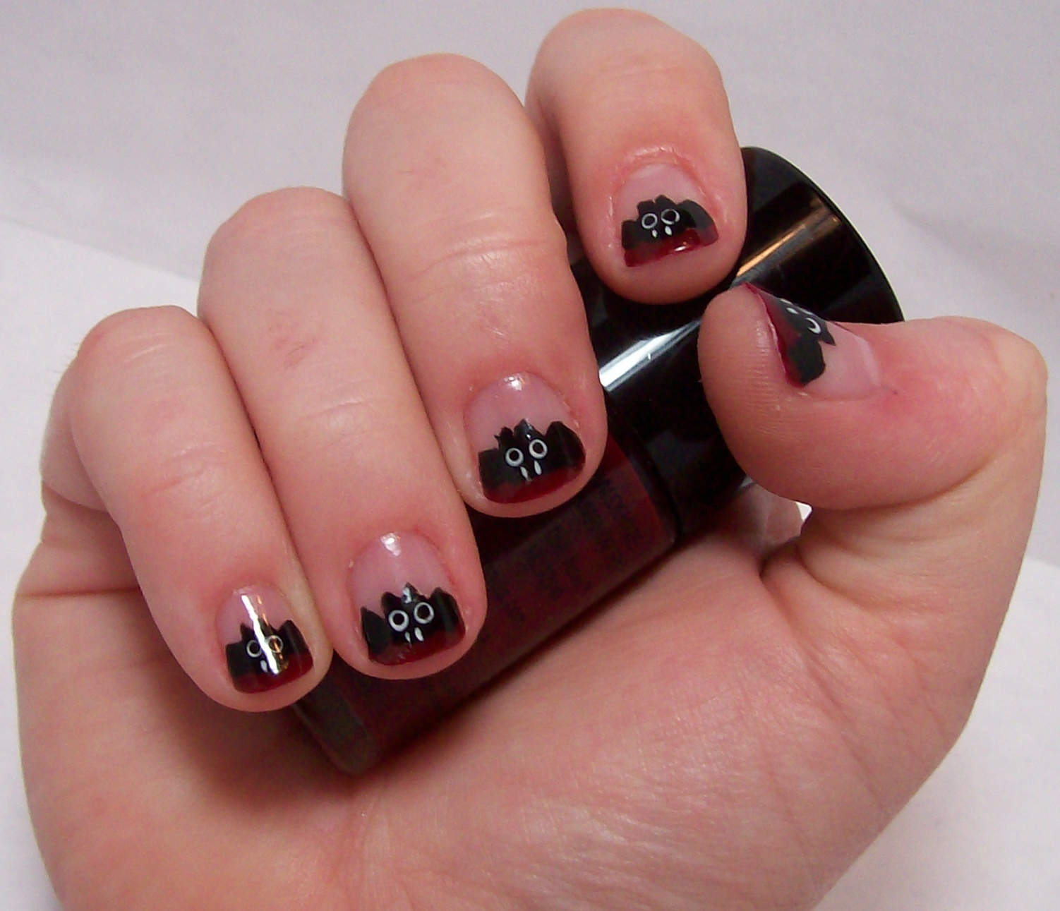 10 Beautiful Bat Nail Designs
