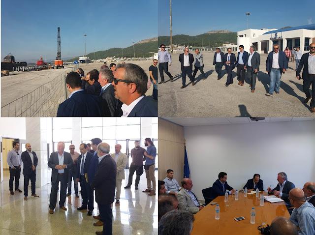 Θεσπρωτία: Ενημέρωση του Υπουργού Υποδομών και Μεταφορώνκατά την επίσκεψη τουστον Οργανισμό Λιμένος Ηγουμενίτσας