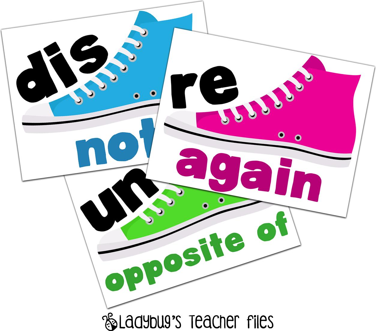 Syllabikicks Prefixes Dis Re Un Ladybug S Teacher Files