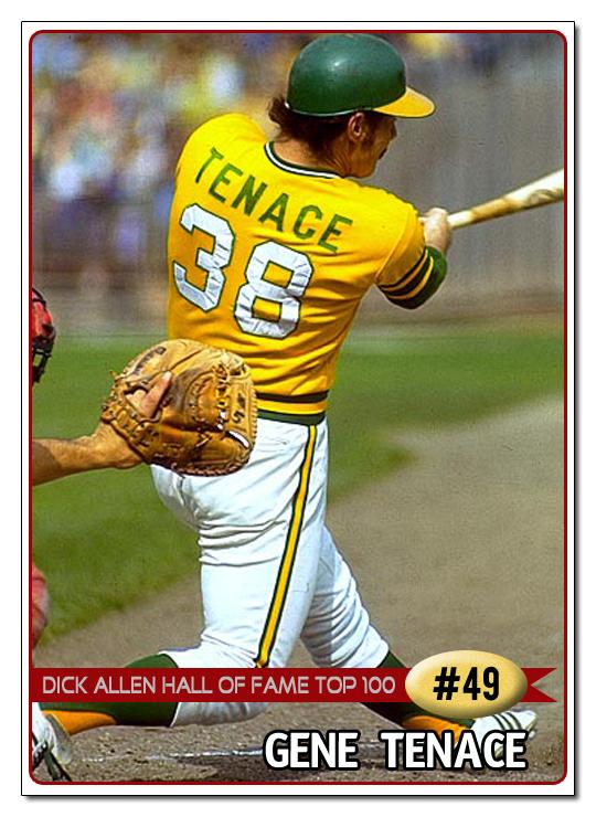 49 Best Images About Little Boys Fashion On Pinterest: Dick Allen Hall Of Fame: DAHOF Top 100 -- #49 Gene Tenace