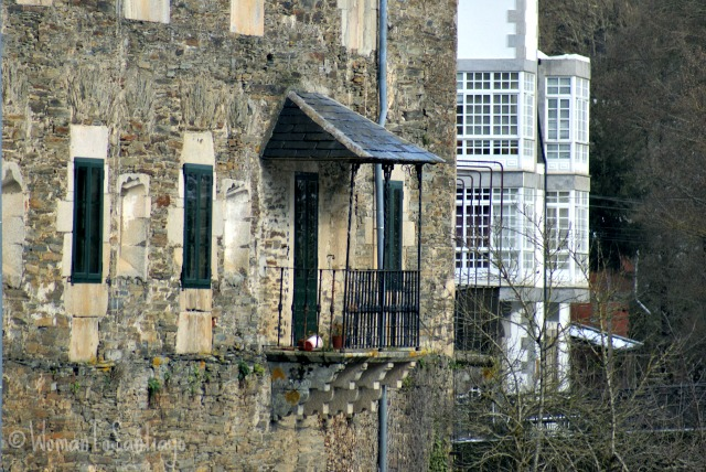 foto de un balcon