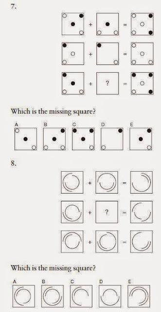 Iq test λογικής - δοκιμασίας νοημοσύνης 7-8