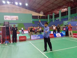Ribuan Atlet Ikut Bulu Tangkis Walikota Cirebon Open 2019