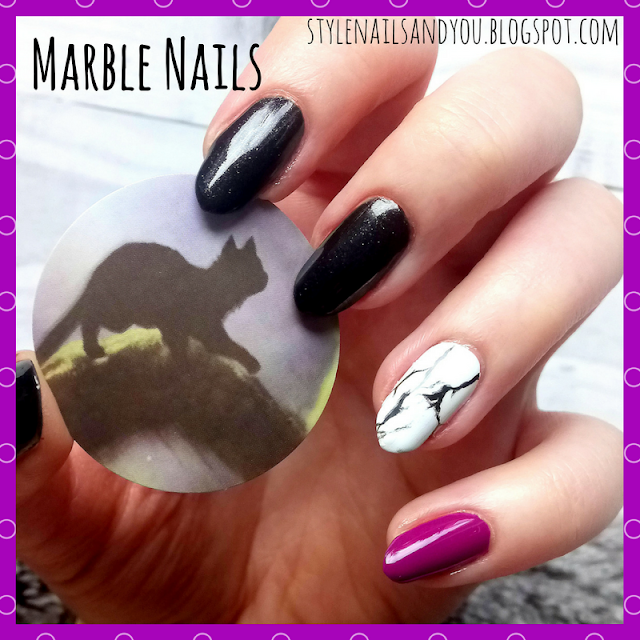Marble Nails | Gradient Marble Nail Water Decals | BeautyBigBang Review