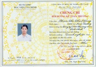 Lớp học chứng chỉ Kế Toán Trưởng tại Hà Nội. Đăng ký đi học ngay