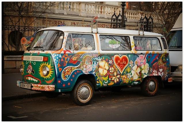 Art Symphony: Ode to the Hippie Van {♡ ☮ }