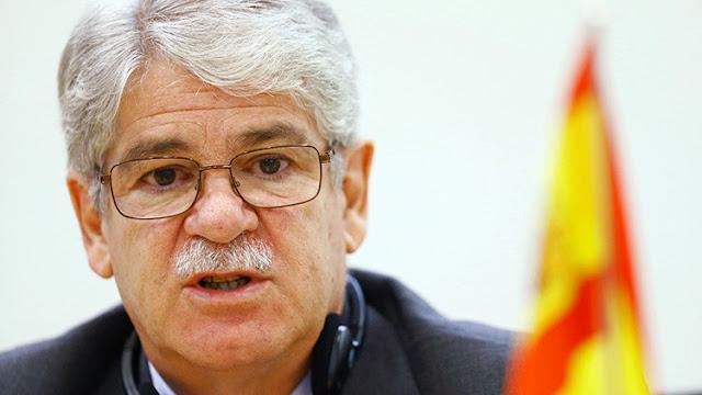 El ministro de Exteriores español se opone a las sanciones contra Venezuela