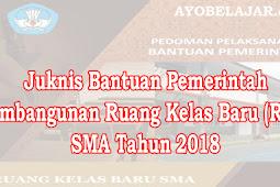 Juknis Bantuan Pemerintah Pembangunan Ruang Kelas Baru (RKB) SMA Tahun 2018
