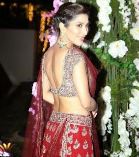 Sophie Chaudhry in Manish Malhotra , Manish malhotra Blouse, Manish malhotra Choli, Blouse deisgn by manish malhotra