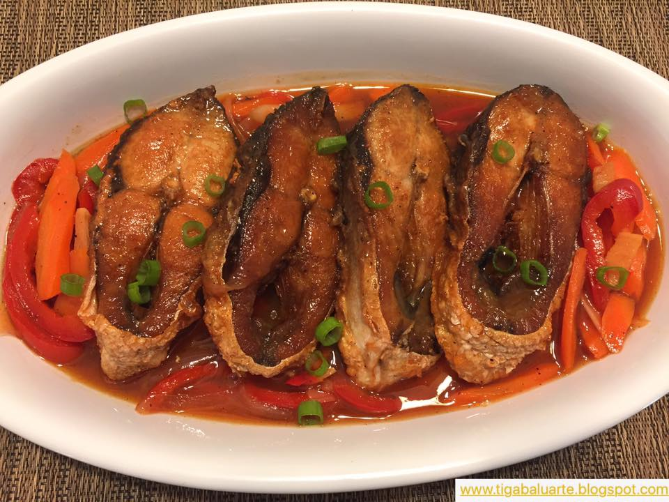 Casa baluarte filipino recipes bangus escabeche recipe for Fish escabeche recipe