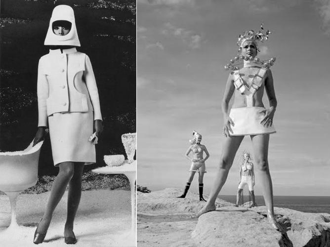 27f8c0ff5 A moda de Pierre Cardin.   Divulgação