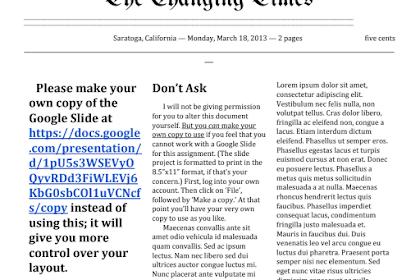 3 Template Google Docs Untuk Bikin Koran dan Majalah, Jurnal