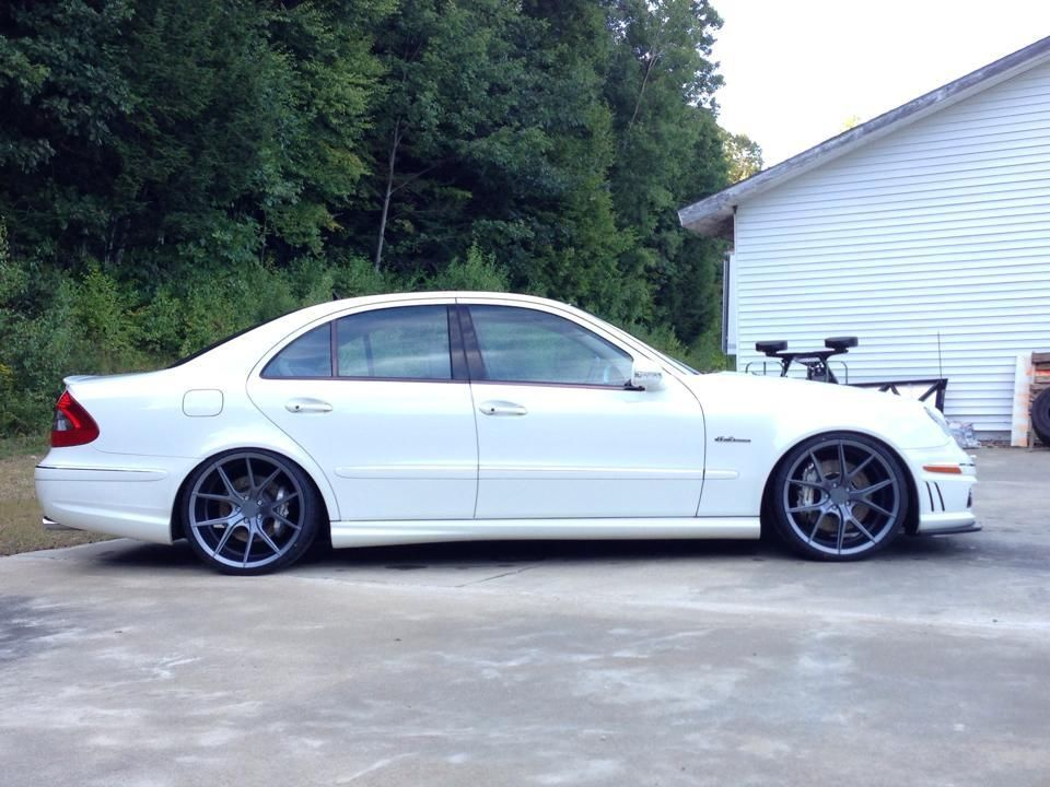 Mercedes Benz W211 E63 Amg On 20 Quot Verde Axis Wheels