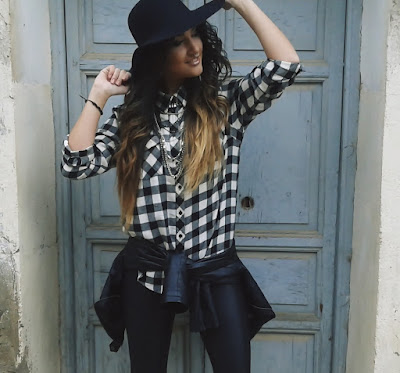 outfit Camisa a Cuadros