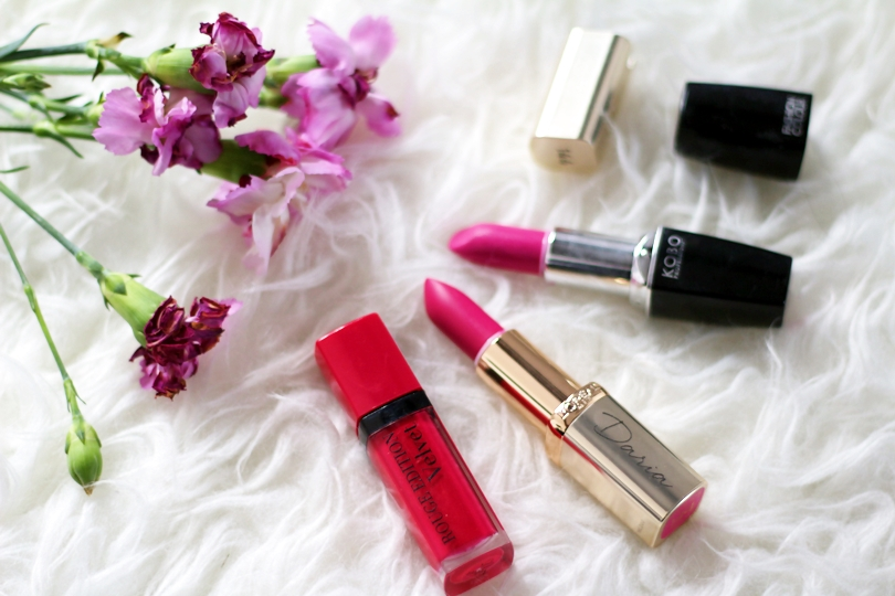 bourjois, loreal, color, rich, ole flamingo, fashion colour, kobo, pink, fuksja, usta, pomadka, błyszczyk, beauty, body,