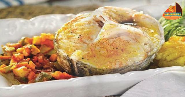 Pescadilla con sofrito de verduras