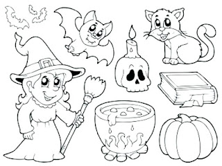Best-Happy-Halloween-Clipart-Black & White-Online-2019