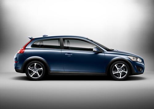 voitures et automobiles la nouvelle volvo c30 2012. Black Bedroom Furniture Sets. Home Design Ideas