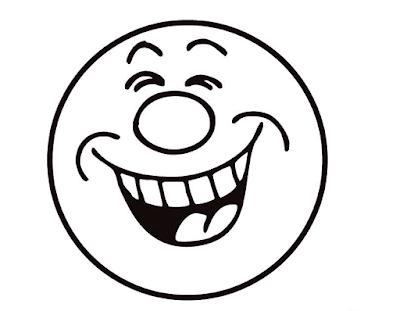 Gambar Mewarnai Emoticon - 1