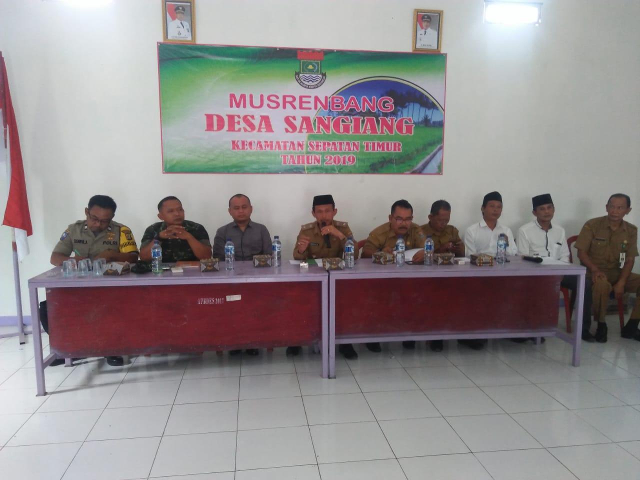 Desa Sangiang Laksanakan Musrenbang Desa