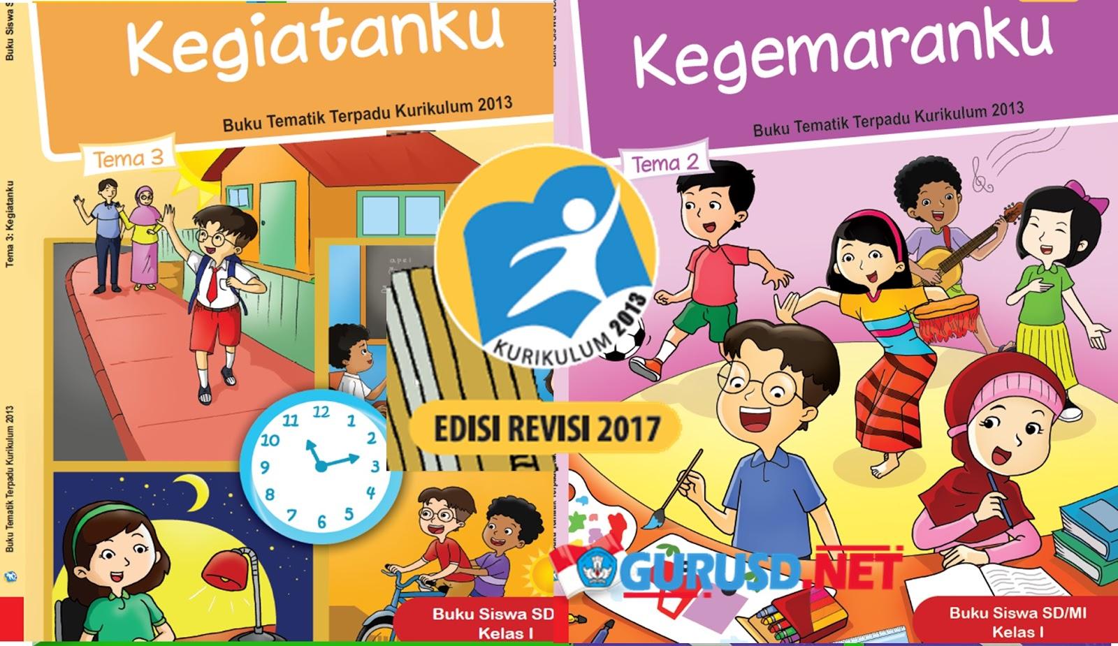 Buku Kelas 1 Kurikulum 2013 Revisi 2017 Semester 1