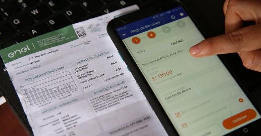 OSINERGMIN: Conoce las facilidades para pagar los recibos de luz y fracciona tu deuda (RES. Nº 083-2020-OS/CD)