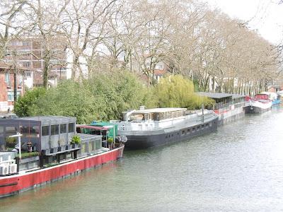 Les péniches du Canal, rêve de Bruno, Toulouse, malooka