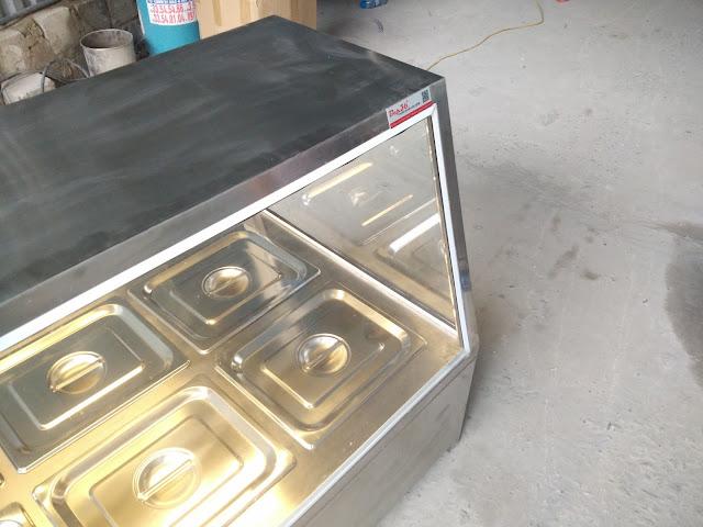 Sản xuất và phân phối các thiết bị giữ nóng thức ăn bằng hơi nước