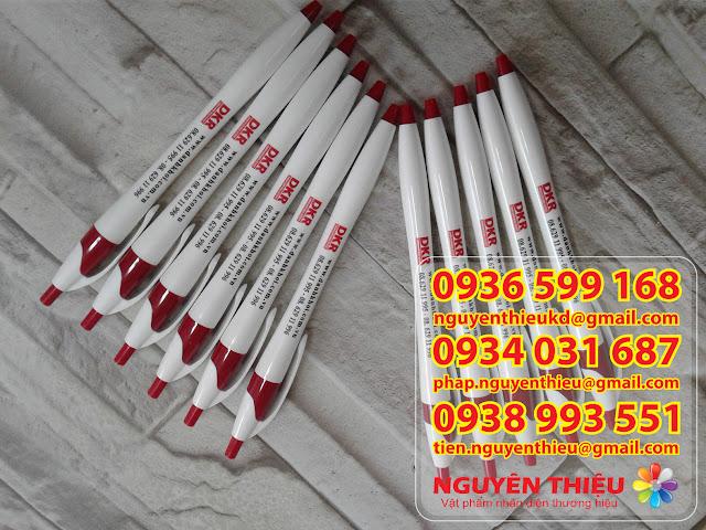 Cơ sở sản xuất, xưởng in logo bút bi cao cấp giá rẻ. Cung cấp bút bi in logo quảng cáo giá sỉ tphcm