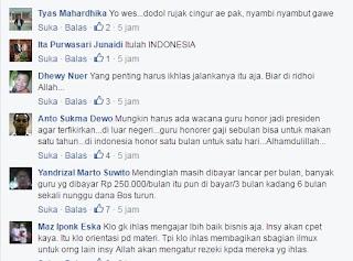Inilah Curhatan Gaji Guru Tidak Tetap (GTT) Beserta Tanggapan Netizen1