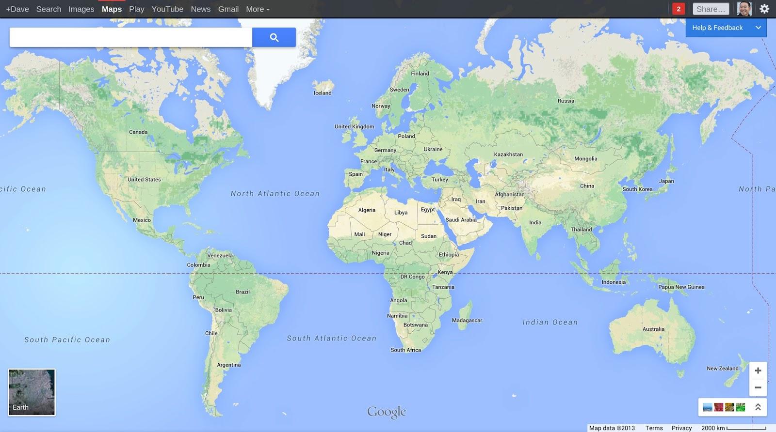 Blog oficial de google espa a conoce el nuevo google maps - Tarimas del mundo madrid ...