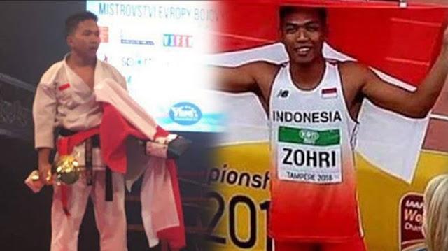 Tak Seberuntung Nasib Muhammad Zohri, Fauzan sang Juara Dunia Karate Kini Jadi Pegawai Toko
