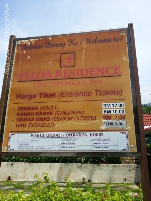 Kisah Hot Spring Sungkai, Perak