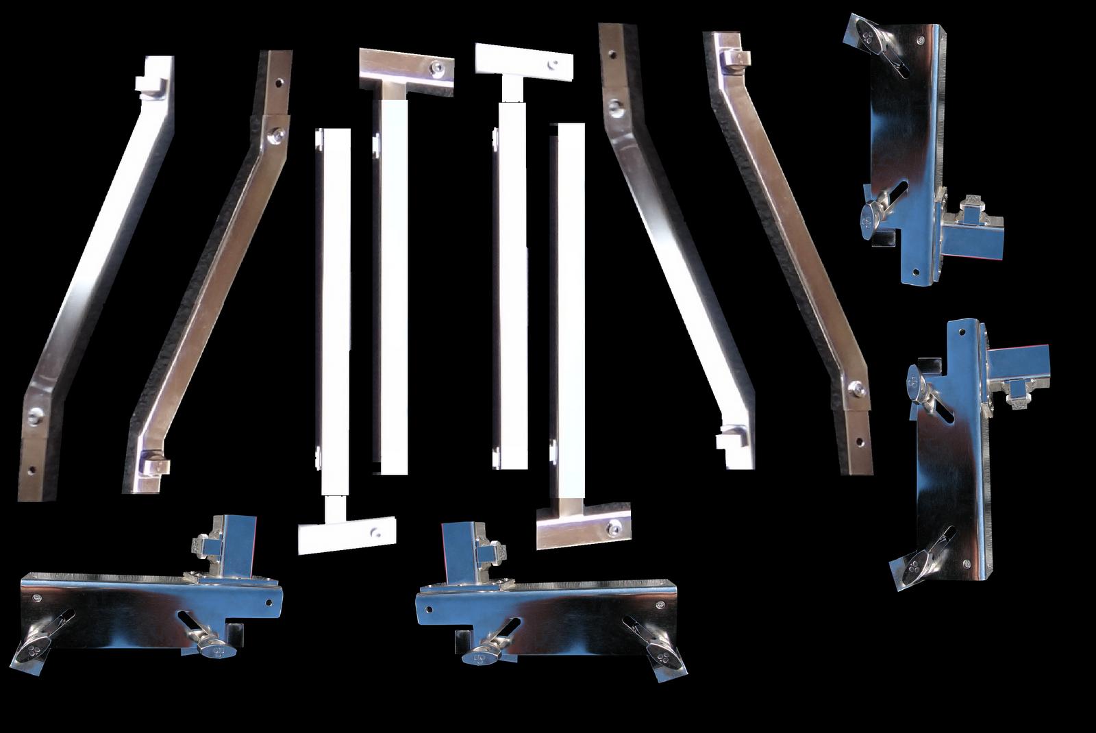Z-RAK TRUCK RACK: 100% Stainless Steel Truck Rack